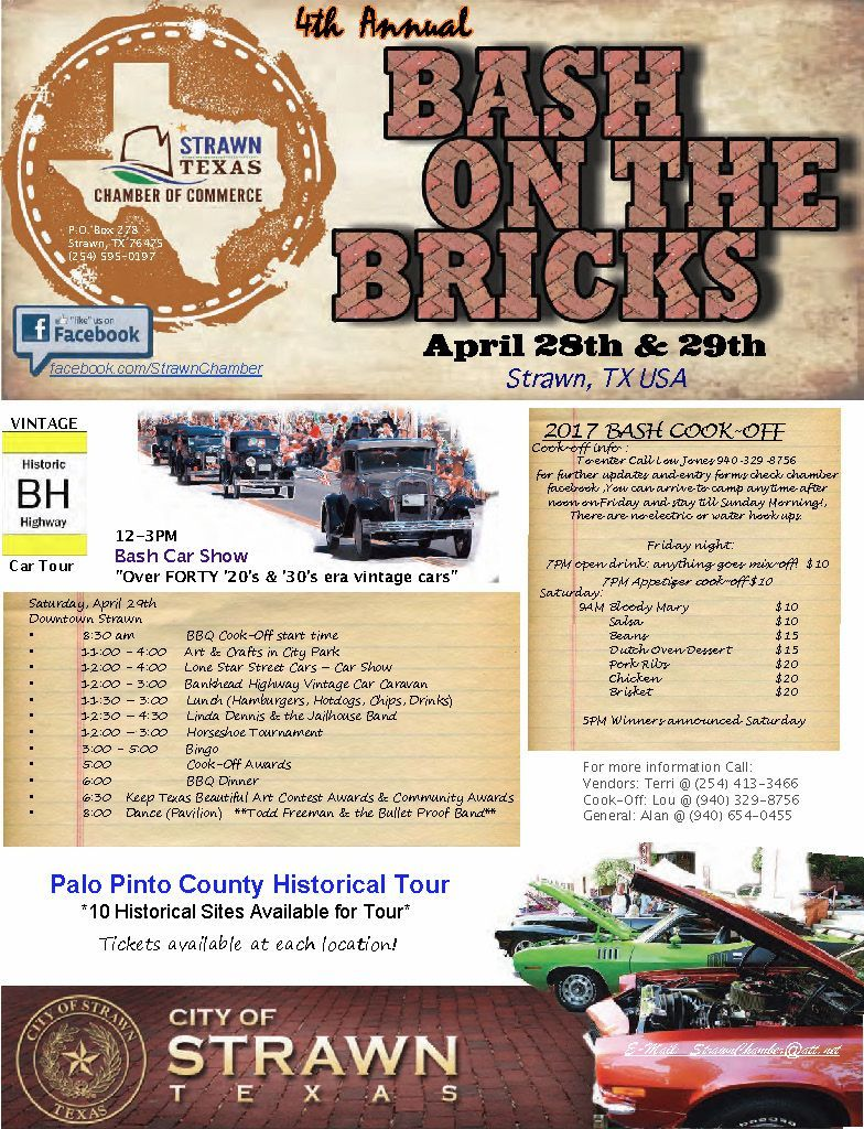 2017 Bash on the Bricks flyer w times revision7